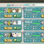 【艦これ2017春イベ】 E-3 艦隊抜錨!北方防備を強化せよ! 【個人的備忘録】