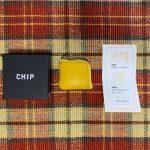 最小のミニマル小銭入れ「CHIP」が届いたので使ってみた!